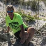 Sea Turtle Trackers Volunteer Kim